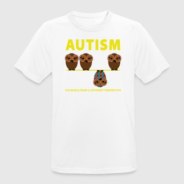 Autism the world from a different perspective - Men's Breathable T-Shirt