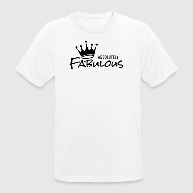 Absolutely Fabulous - Andningsaktiv T-shirt herr