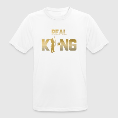 Real King - Archery Bow Arrow Bow - Men's Breathable T-Shirt