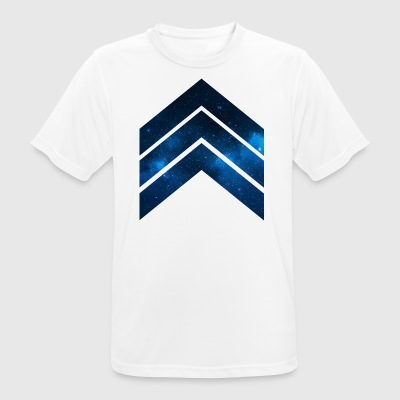 Blue Galaxy - Men's Breathable T-Shirt