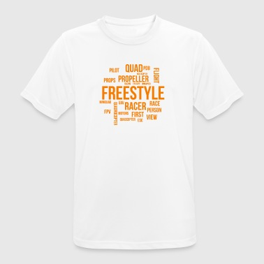 FPV - Quadcopter Word Cloud - Men's Breathable T-Shirt