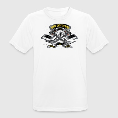 Screaming pistons - Men's Breathable T-Shirt