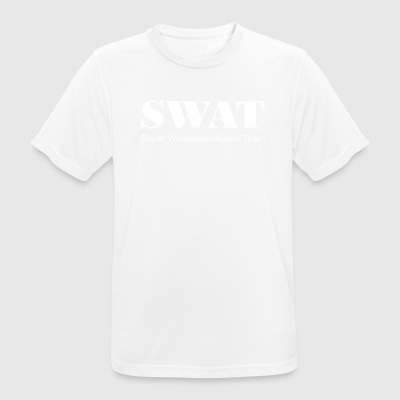 blanc Swat - T-shirt respirant Homme