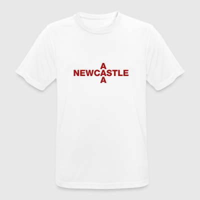Newcastle United Kingdom Flag Shirt - Newcastle - Men's Breathable T-Shirt