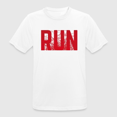 RUN - Herre T-shirt svedtransporterende