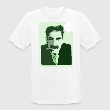 Groucho Marx Green - Men's Breathable T-Shirt