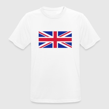 National flag of Great Britain - Men's Breathable T-Shirt