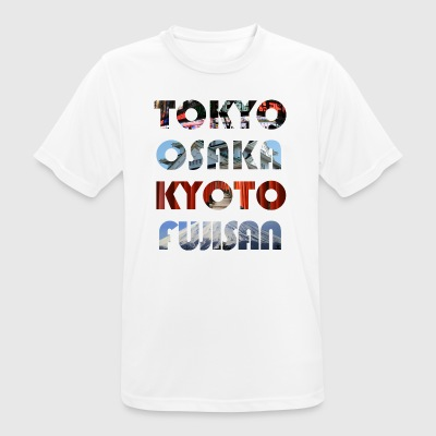 Japan's metropolises - Men's Breathable T-Shirt