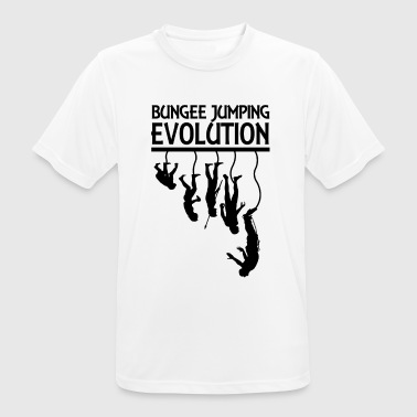 Bungee Jumping Evolution - Men's Breathable T-Shirt