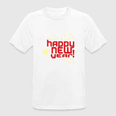 happy New Year - Men's Breathable T-Shirt