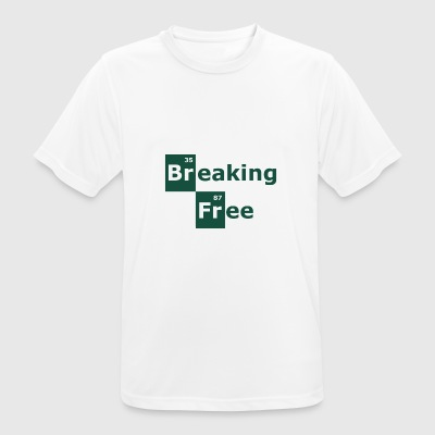 breaking free - Men's Breathable T-Shirt