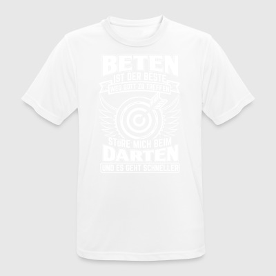 DART BETING IS THE BEST - Men's Breathable T-Shirt