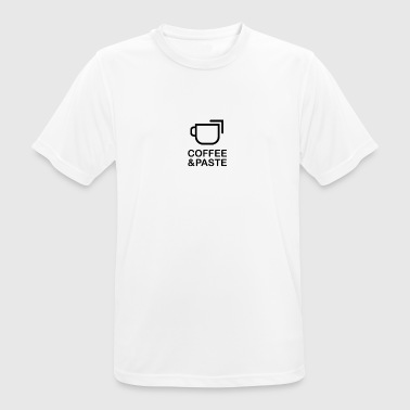 Coffee and paste - Men's Breathable T-Shirt
