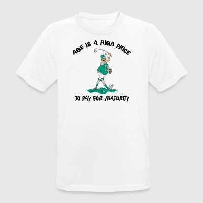 Funny Golf Grandpa - Men's Breathable T-Shirt