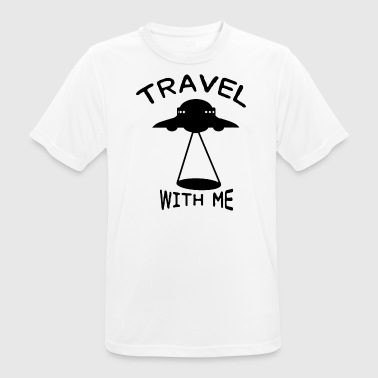 ++Travel with me++ - Männer T-Shirt atmungsaktiv