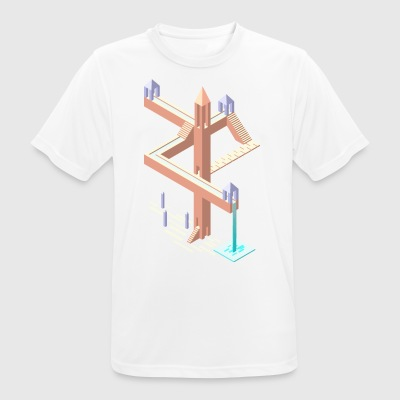 Monument Valley tribute - Men's Breathable T-Shirt