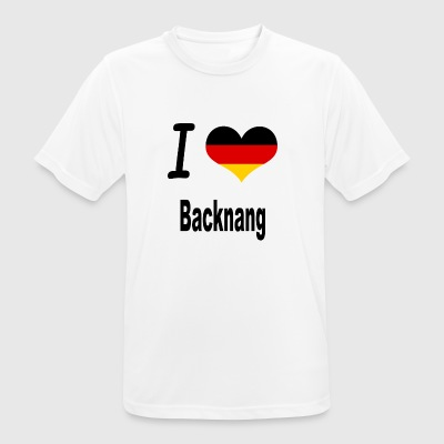 I Love Germany Home Backnang - Männer T-Shirt atmungsaktiv