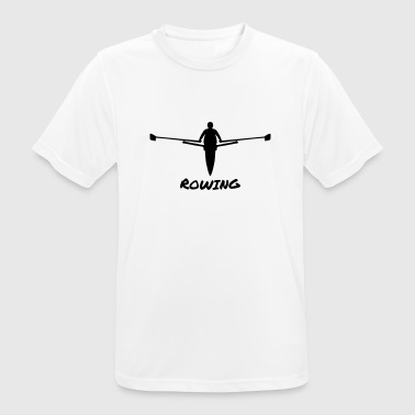 Rowing, Rower - Men's Breathable T-Shirt