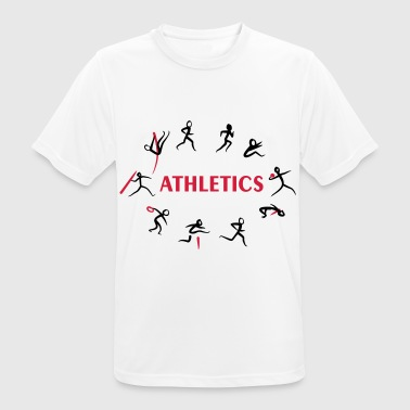 Decathlon, Track and Field - mannen T-shirt ademend