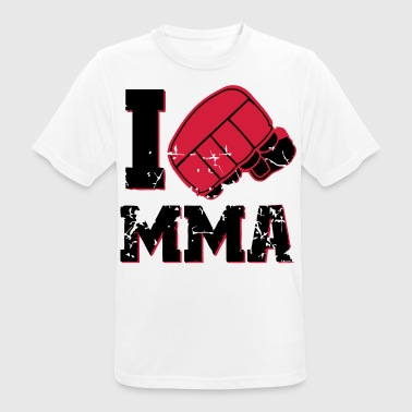 I love MMA - Men's Breathable T-Shirt