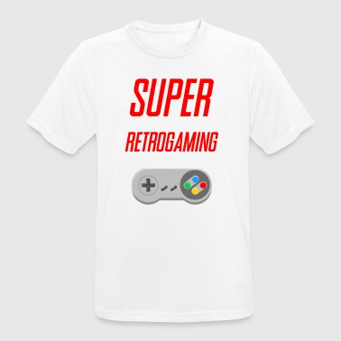 SUPER RETROGAMING - Men's Breathable T-Shirt