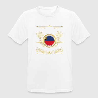 PRINCESS PRINCESS QUEEN BORN LIECHTENSTEIN - mannen T-shirt ademend