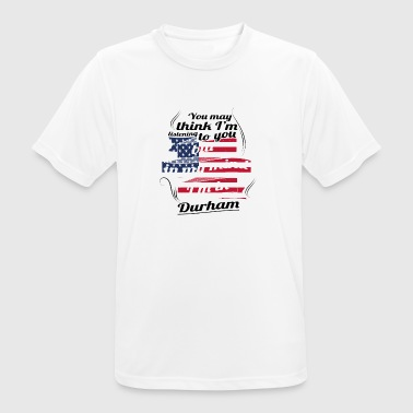 THERAPY HOLIDAY AMERICA USA TRAVEL Durham - Men's Breathable T-Shirt
