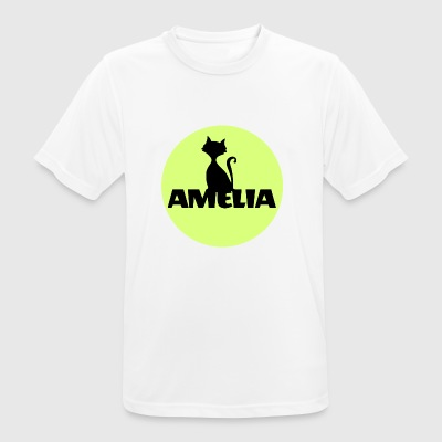 Amelia First name Name Name Motif Christening godfather - Men's Breathable T-Shirt