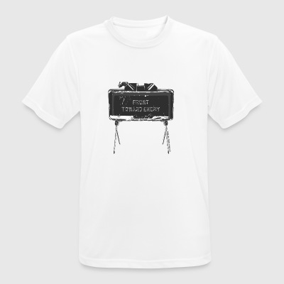 Claymore Front Towards Enemy - Herre T-shirt svedtransporterende