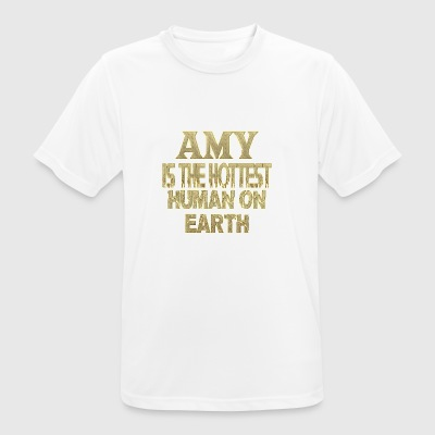 Amy - Men's Breathable T-Shirt