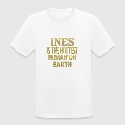 Ines - Men's Breathable T-Shirt