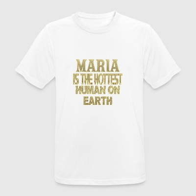 Maria - Men's Breathable T-Shirt
