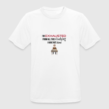 I am exhausted - Men's Breathable T-Shirt