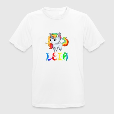 Leia unicorn - Men's Breathable T-Shirt