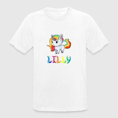 Lilly unicorn - Men's Breathable T-Shirt