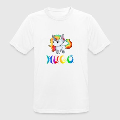 Hugo unicorn - Men's Breathable T-Shirt