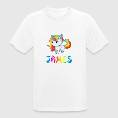 James Einhorn - Herre T-shirt svedtransporterende
