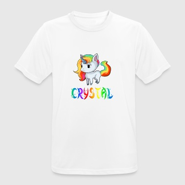 Unicorn Crystal - Men's Breathable T-Shirt