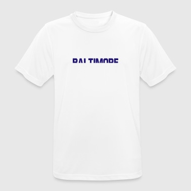 Baltimore football - Men's Breathable T-Shirt