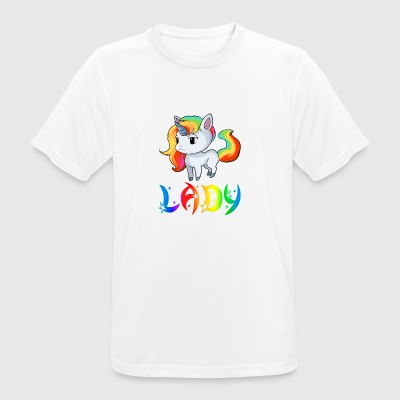 Unicorn Lady - Men's Breathable T-Shirt