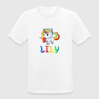 licorne Lily - T-shirt respirant Homme