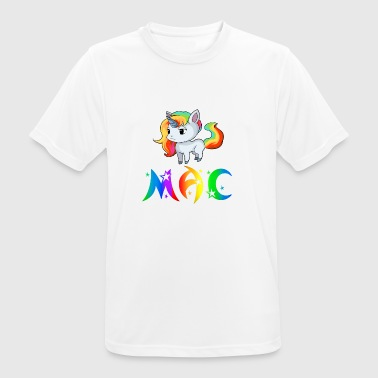 unicornio Mac - Camiseta hombre transpirable