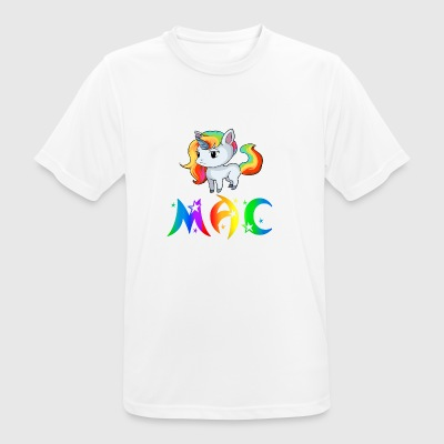 Unicorn Mac - mannen T-shirt ademend