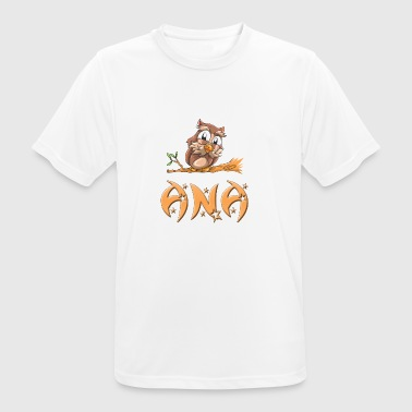 Owl Ana - Men's Breathable T-Shirt