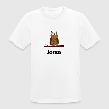 Children's school Born owl motif Jonas - Men's Breathable T-Shirt