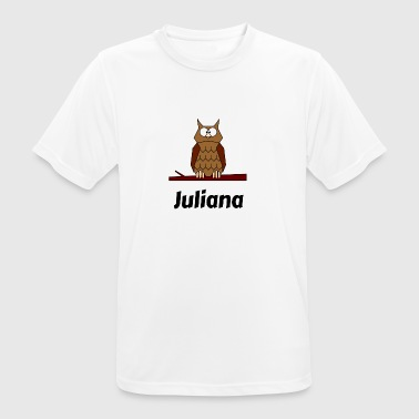 Children's school Born owl motif Juliana - Men's Breathable T-Shirt