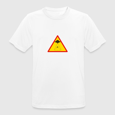 Attention extraterrestrial abduction! - Men's Breathable T-Shirt