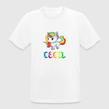 Unicorn Cecil - Men's Breathable T-Shirt
