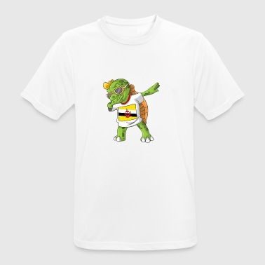 Brunei Darussalam Dabbing turtle - Men's Breathable T-Shirt