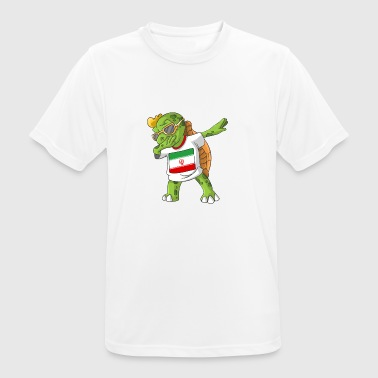 Iran Dabbing turtle - Men's Breathable T-Shirt